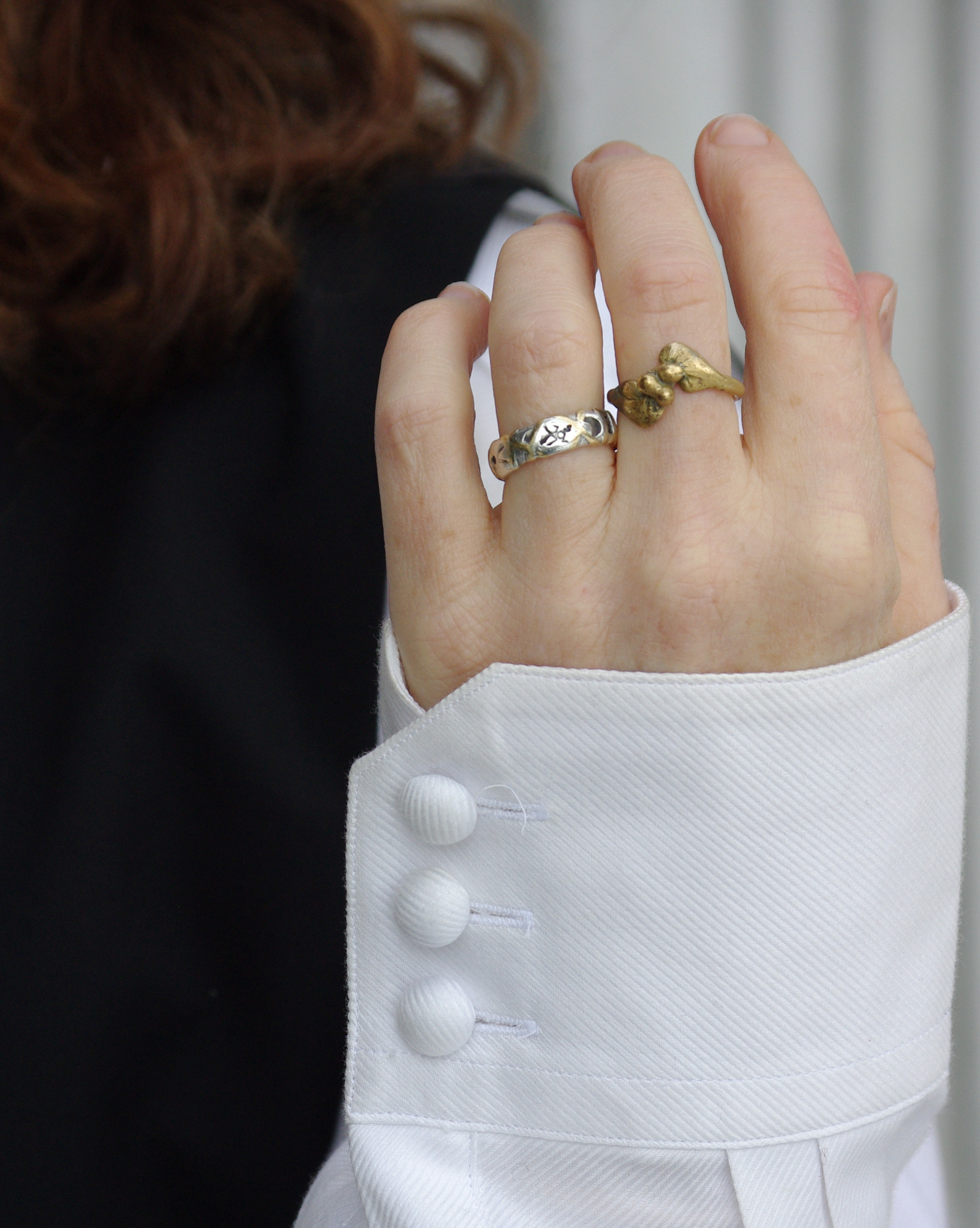 Wear Silver Gold Rings Together