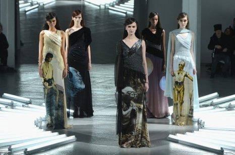 Rodarte - Runway - Mercedes-Benz Fashion Week Fall 2014