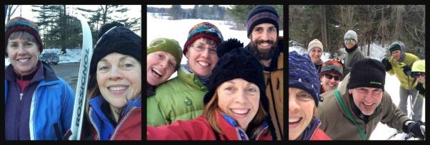 ski collage