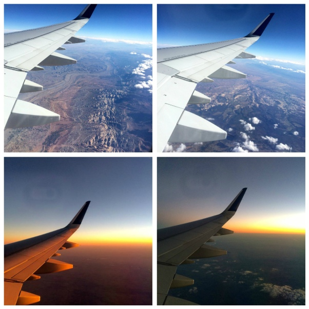 flying collage