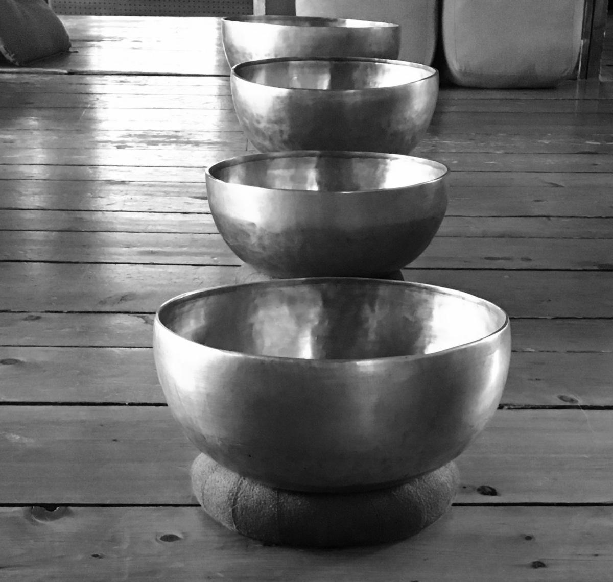 Tibetian singing bowls
