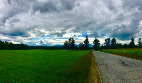 field in Vermont