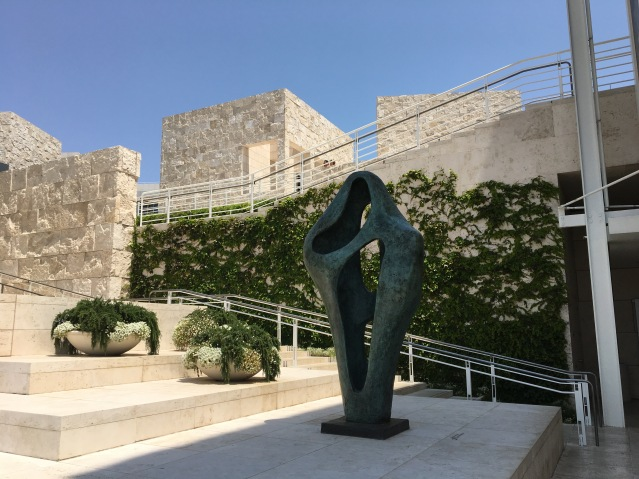 Getty Museum in Los Angeles