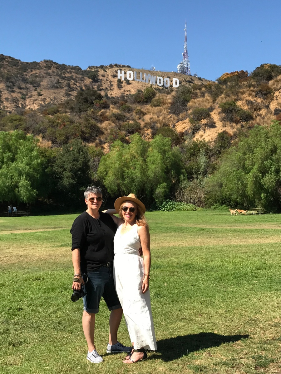 Hollywood sign, Hollywood, CA