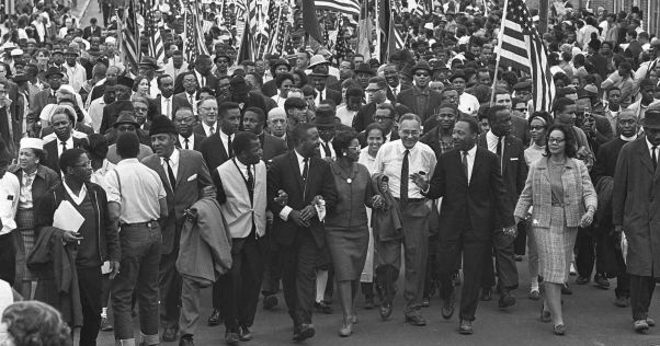 MLK marches to Selma